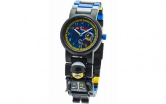 LEGO Movie - Bad Cop Minifigure Link Watch