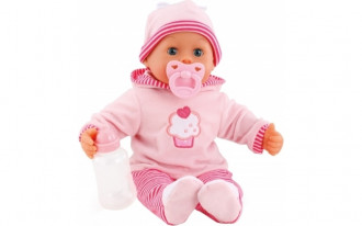 First Words Baby Doll with sounds (38cm)