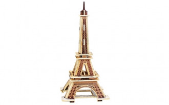 3D Wooden Puzzle - Eiffel Tower