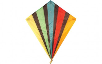 Diamond Kite Single Line (Multi-colour) 82x88cm