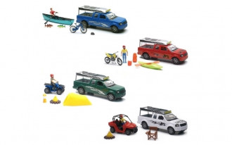 Xtreme Adventure Pickups with Accessories (4 Assorted Models)