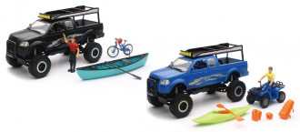 Xtreme Adventure Pickup Set with Suspension (2 Assorted)