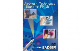 Airbrush Techniques and Exercises DVD
