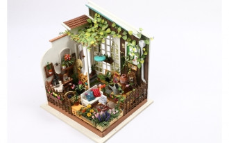 Wooden DIY House - Miller's Sunshine Garden