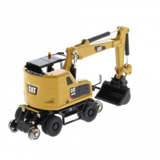 1/87 CAT M323F Railroad Wheeled Excavator