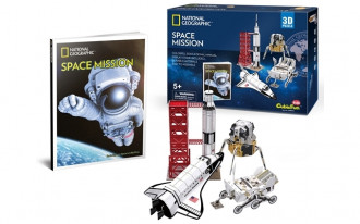 National Geographic - Space Mission 80pcs 3D Puzzle