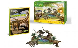 National Geographic - Dinosaur Park 43pcs 3D Puzzle