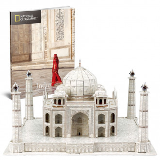 National Geographic - Taj Mahal 87pcs 3D Puzzle