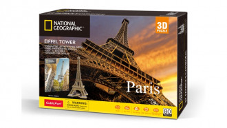 National Geographic - Eiffel Tower 80pcs
