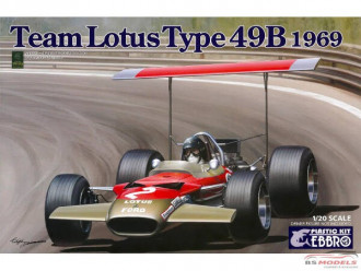 1/20 EBBRO Team Lotus Type 49B 1969