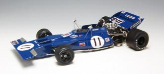 1/20 EBBRO Tyrrell 003 Monaco GP 1971
