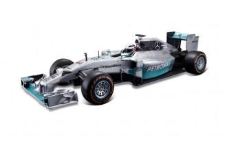 1/14 R/C Mercedes-Benz W05 Hybrid Formula 1 2014 without Batteries