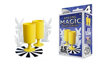 Amazing Magic Pocket Set #4 with 15 Tricks
