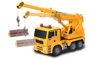 1/20 R/C Crane Truck with Battery & USB Charger