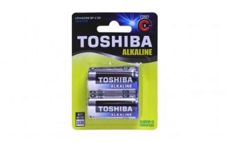 Toshiba C Blue-Line Alkaline Batteries (2)