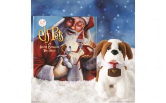 Elf Pets: A St. Bernard Tradition