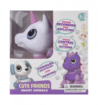Smart Animals - Mini Unicorn (12cm Long)