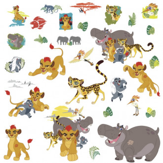 Lion Guard Peel & Stick Wall Decals