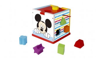 Disney Wooden Shape Sorter - Mickey