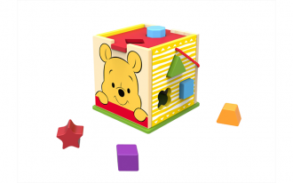 Disney Wooden Shape Sorter - Pooh