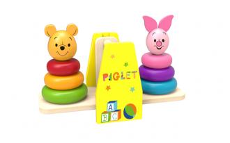 Disney Wooden Balance Stacker - Winnie the Pooh