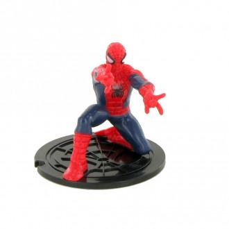 Spiderman - Spiderman bent down (7cm)